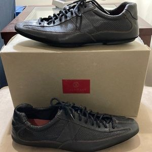 Cole Haan Black Panama Sport Leather Shoes
